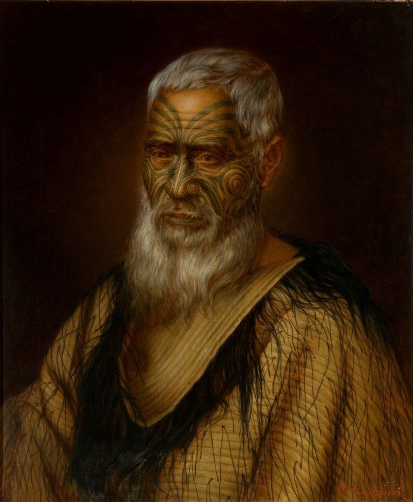 maorihøvding