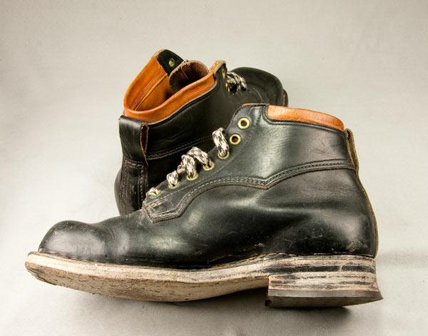 Slik skoa kom fra Fretex