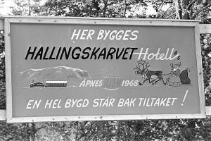 Norsk leilighetsskilt fra 1968